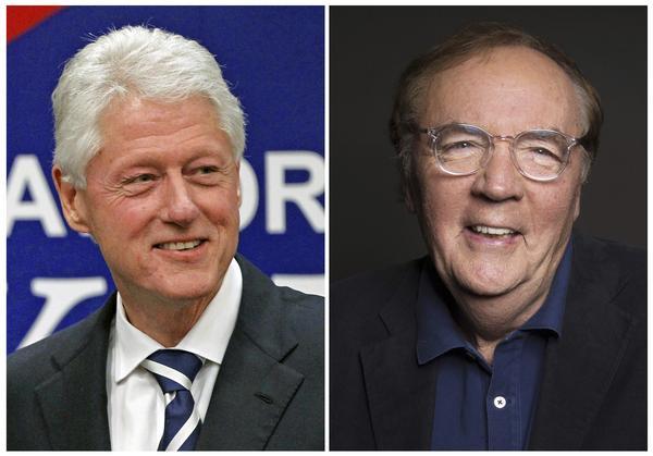 USA:s före detta president Bill Clinton och författaren James Patterson skriver boken