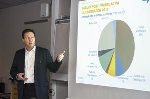 Jonas Carlsson är Business Swedens man i Örnsköldsvik.