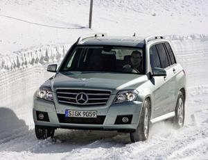 Mercedes GLK 220 CDI 4-Matic379 900 kronor.Galanten i klassen som trivs bäst på vägen.