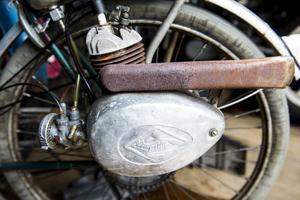 En Fuchs påhängsmotor – något för den som gillar att trampa.