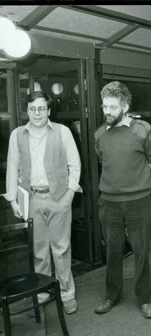 Kurt Nylander 1987, i praktiken teaterchef redan då.    Foto: Lennart Pettersson