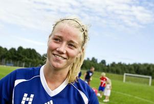 Jennny Hjohlman gjorde lyckat inhopp i EM-finalen.
