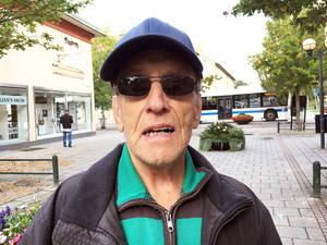 Sven Gustavsson från Fagersta tänker inte rösta i kyrkovalet.