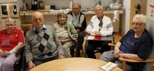 Patienterna på Tegelbackens dagrehabilitering är oroade över beslutet.