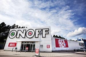 Ger upp. Konkurrensen blev för hård för Onoff som nu ansökt om konkurs. Vad som händer med butiken i Valbo är ännu oklart.Foto: Katarina Strömgren