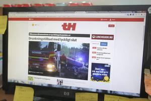 Den nya webben får ett betydligt modernare utseende än den förra och det blir lättare att få en överblick över nyheter och reportage som publiceras.