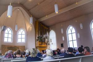 Madelaine Thelin från föreningen Söderblomspelen var nöjd med konserten.