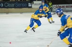 Johan Östblom är en av två debutanter i det svenska VM-laget.