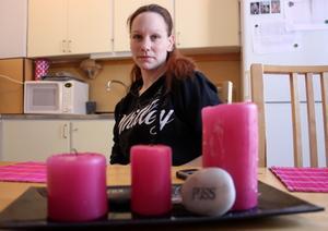 VÄNTAR. Jenny Millberg hoppas på att kommunen ska inför tidsflexibel barnomsorg.