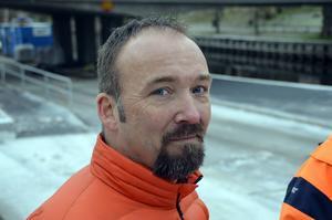 Johan Lindstammer, marknadsförare och kommunikatör på stadsbyggnadskontoret.