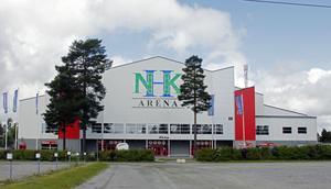 Nu har Timrå Isstadion fått nya skyltningen.