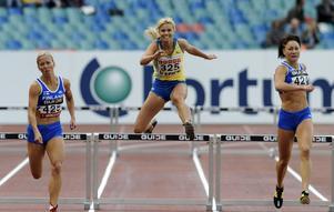 En tredjeplats blev det för Ulrika Johansson på 400 meter häck.