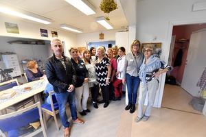 Öppet hus på Solängsgården med lokal personal, tjänstemän, politiker och företrädare för intresse organisationer.