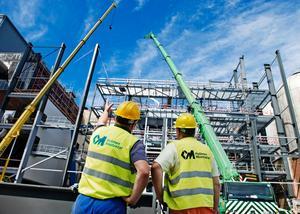Bygget av den nya pannan kommer att stå klart 2012-12-12, om allt går enligt planerna.