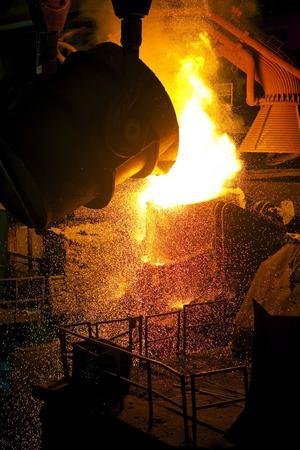 En fördjupad eurokris kan drabba den svenska stålindustrin hårt.