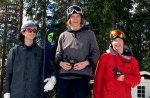 Joel Magnusson vann JSM i slopestyle som avgjordes i Kläppen i söndags.