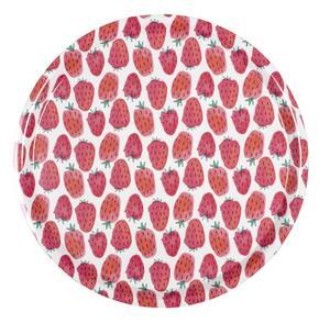 GUBBE. Jordgubbar hör till på midsommar. Den här brickan kommer från Lagerhaus och kostar 139 kronor.