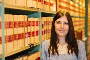 Linnéa Krylén från Lit debuterade med barnboken
