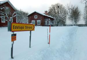 Kommunen får bakläxa på planeringen av ett villaområde vid Edstuga Strand utanför Bollnäs.