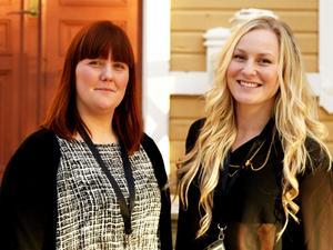 Caroline Westin jobbar med projektet NoCry2 och Rebecka Westin har varit med sedan 2011.
