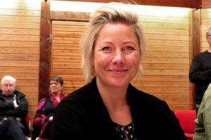 Theresa Flatmo medgav att hon var mycket spänd inför den slutna omröstningen om oppositionsråd.