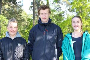 Erik Forsström, Jakob Källquist och Amie Molin Richtnér.