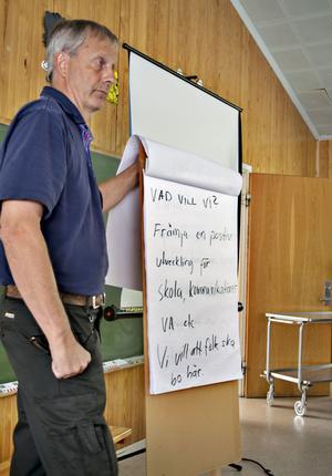 Rune Matsson ledde mötet.