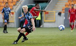 John Junior nätade mot sin förra klubb - framför ögonen på flera allsvenska klubbar.