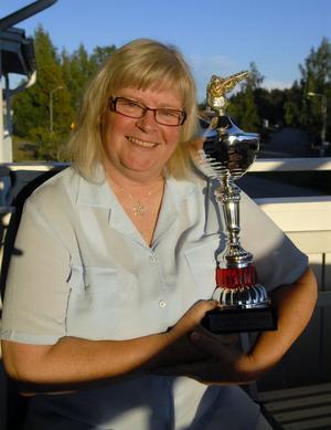 Efter en tung säsong slog Hedemorabon Maria Olofsson till och vann helgens SM i nationell skeet.