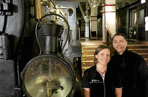 Sista sommaren på mycket länge. Helena Skärström och Mikael Dunker på Sveriges järnvägsmuseum uppmanar alla tågintresserade att passsa på att besöka museet innan de stänger den 9 september.