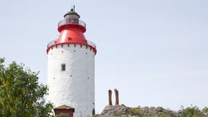 Landsorts fyr är ett klassiskt inslag i Nynäshamn skärgård.