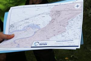 Skyddsområdet för grundvattnet sträcker sig som en lång tunga under Gävle, från  Rörberg till Hille. Mest känsligt är området mellan Valbo och sjukhuset, där det till exempel är förbjudet att påla i marken vid husbyggen.