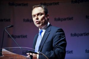 Utbildningsminister Jan Björklund, FP, krånglar till det...