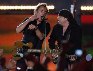 Bruce Springsteen och Steve Van Zandt. Foto:/AP/Scanpix