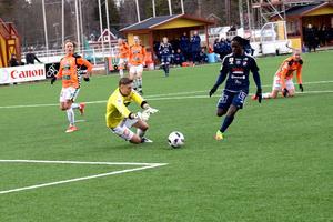 Tabitha Chawinga och lagkamraterna i Kvarnsveden ställs mot Rosengård i Svenska cupen.