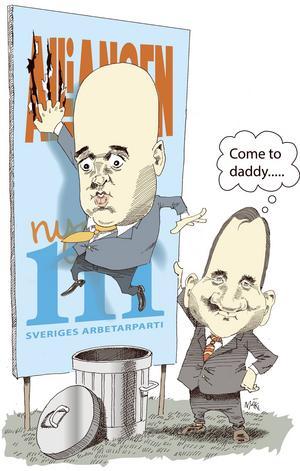 Svårt opinionsläge för Fredrik Reinfeldt och Alliansen.