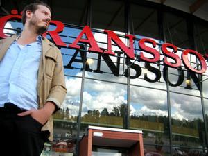 Mitt framför huvudentrén på Göransson Arena kanske allmänheten kommer att kunna dricka glögg. GD:s reporter Niklas Sundin besökte platsen i går för att bilda sig en uppfattning.