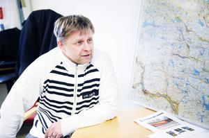 Stefan Häggblad, kommunens skolskjutsansvarige.