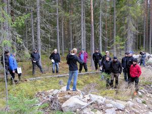 Ett 20-tal entreprenörer och inspektorer utbildades i skonsamt skogsbruk.