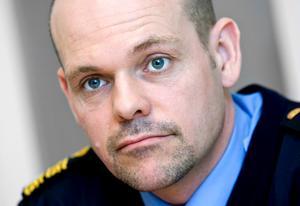 Södertäljes polismästare Patrick Ungsäter.