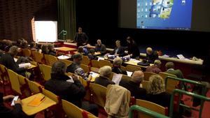 Under onsdagen hölls ett offentligt sammanträde i Folkets hus i Norberg om den planerade vindkraftparken Målarberget.