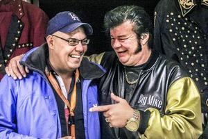 Michael Fräki och Elvis-imitatören Big Mike tror båda att musikkonceptet är bra för Funemässen.