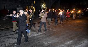För 33:e året i rad marscherade Storyvilleparaden från Fiskartorget.