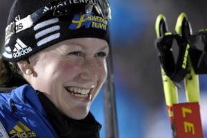 Helena Ekholm gör comeback vid fredagens skidskytte-SM i Östersund...