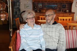 Astrid och Lennart Gunhamre har varit gifta i 65 år.
