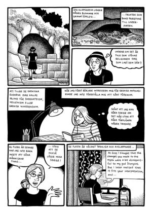 I en serie berättar Li österberg om ett Greklands-besök