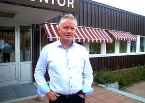 Så här ser han ut, Åres nye kommunchef Per Eric Magnusson, som är så sugen på nya jobbet att han bad att få börja flera veckor före utsatt tid. Foto: Elisabet Rydell-Janson