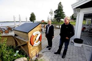 Nya ägarna till Katrinelund. Pia och Lennart Carlsson är i sitt bolag Productor AB nya ägare till området vid Hjälmaren, med restaurang Sjökrogen. På gång är flera byggen, bland annat hus med antingen bostadsrätt eller äganderätt.