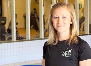 Liss Elin Larsson är hälsopedagog och kommer från Delsbo. Foto: Daniel Hansson