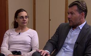 Annica får hjälp av Lyxfällans Patrick Grimlund. Foto: TV3.